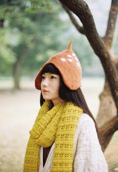 that hat <3 #morikei #mori #naturalkei