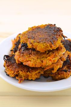 Sweet Potato Pancakes (vegan) easy recipe