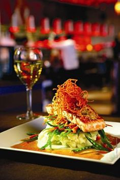 Yard House Recipe for Ginger Crusted Salmon - Miami - Restaurants and Dining - Short Order