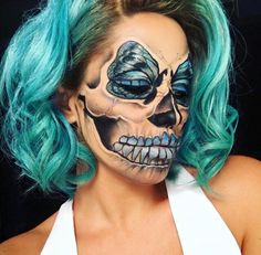 #butterfly #skull #chrisspy