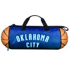 Oklahoma City Thunder Basketball to Duffle Bag