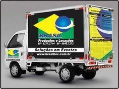 Impressão Digital - Personalização de Frotas (Adesivo + Acabamento em verniz) - Brasil Produções