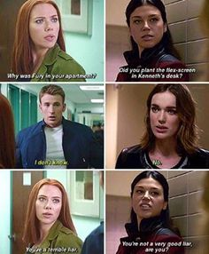 Captain America and Jemma Simmons parallels