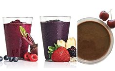 """Recipe 3: Low Calorie Chocolate Cherry Smoothie Serves 2 Ingredients: 2 cups frozen dark Cherries 1 tablespoon unsweetened Cocoa powder 6 oz. unsweetened, original Almond Milk 2 cups Spinach This one provides 96 calories leaving room for chia seeds. And if your cherries are tart you might want to add a ripe banana for sweetness.<a href=""""http://www.drinkmehealthy.com/recipe-15-low-calorie-healthy-smoothies/"""" title=""""Read more"""" >...</a>"""