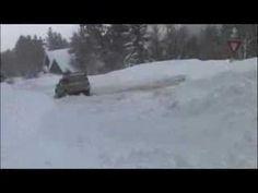 Jeeps Stuck in Snow: Jeep Commander Snow