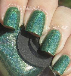 a green holo! i need this, must have, now