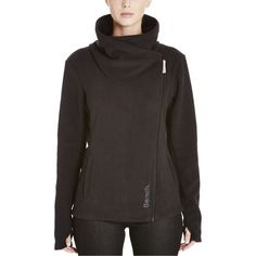 Bench RiskRunner Full-Zip Sweatshirt (130 CAD) ❤ liked on Polyvore featuring tops, hoodies, sweatshirts, zip sweatshirt, pocket sweatshirt, holiday sweatshirts, full zipper sweatshirt and fleece tops