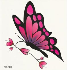 High Quality Black Butterfly Tattoos Promotion-Shop for High ...
