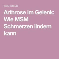Arthrose im Gelenk: Wie MSM Schmerzen lindern kann Home Remedies Beauty, Beauty Hacks, Sport, Fibromyalgia, Home Remedies, Health And Fitness, Deporte, Beauty Tricks, Sports