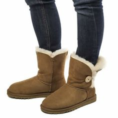 Women's Bailey Button Boots 5803 Sand £75.05 Snow Boots, Winter Boots, Australia Snow, Bearpaw Boots, Ugg Shoes, Uggs, Button, Nice, Fashion