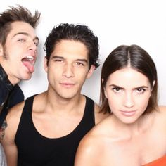 Dylan Sprayberry, Cody Christian, Tyler Posey, and Shelley Hennig, 'Teen Wolf'