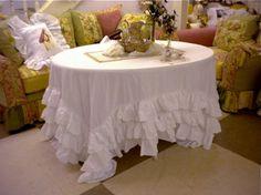 Ruffle Tablecloth