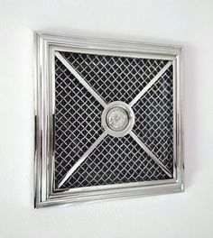 Vent with nickel-plated brass