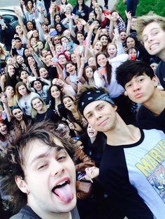 Fan selfie