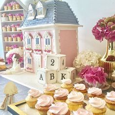 Beautiful dollshouse cake by @nikoscakes with @paperjamstudio for her daughter's birthday seen via @thepartybebe #cake #melbourne