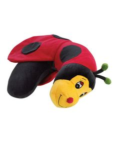 Take a look at this Ladybug Lil Lewis Explorer Neck Pillow by Lewis N. Clark on #zulily today!