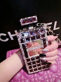 Phone cases - just trendy girls chanel iphone 6 case, bling phone cases Chanel Iphone 6 Case, Bling Phone Cases, Iphone Phone Cases, Iphone 5s, Phone Covers, Cute Cases, Cute Phone Cases, Rubber Iphone Case, Accessoires Iphone