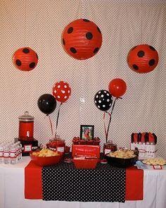 An adorable birthday idea for my Ladybug Girl Kellyn!