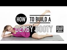 How to Recruit your Glutes | Roller Derby Athletics - YouTube