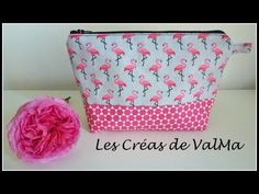 Tuto Couture Jolie Trousse de Toilette / Sewing - YouTube