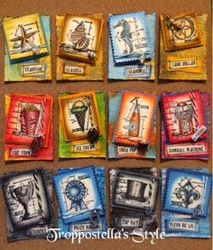 Troppostella's Style: ATC - Mini Blueprints by Tim Holtz [20]
