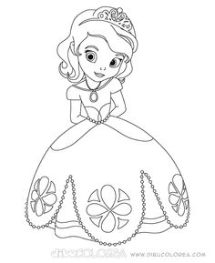 Sofia The First Disney Coloring Pages Free Online Printable Sheets For Kids Get Latest