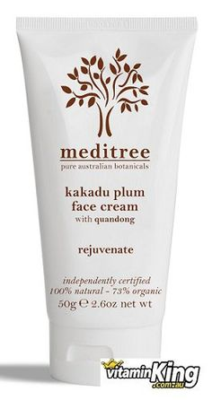 Rejuvenate Face Cream Kakadu Plum with Quandong by Meditree Botanicals