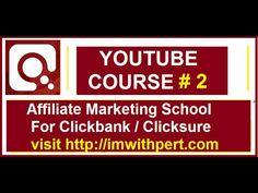 ClickBank Affiliate marketing Tutorial #2  |  ClickBank University