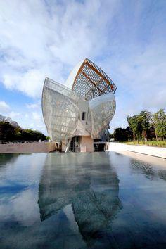 Louis Vuitton Foundation Museum, Paris, France