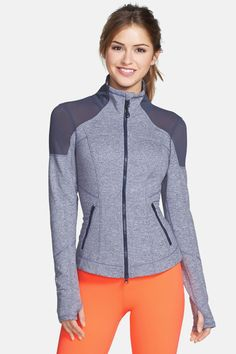 d16db004f10 Zella  Power  Melange Jacket by Zella on  nordstrom rack Roupas Esportivas