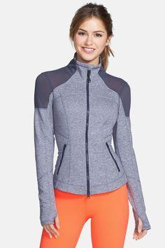 Zella  Power  Melange Jacket by Zella on  nordstrom rack Ropa Gym aa35f5d9a5aa