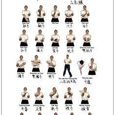 Wing chun form one siu lim tao little imagination for Arts martiaux pdf