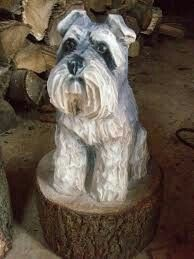 Dog Sculpture, Garden Sculpture, Miniture Things, Wood Carving, Projects To Try, Chainsaw Carvings, Beavers, Outdoor Decor, Dogs