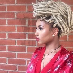 Need braid ideas for Black women? These faux dreadlocks are a sleek way to add extensions to Afro hair this Summer.