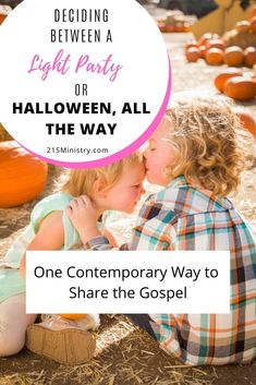 Are you undecided about what to do this Halloween? Should you take your kids out trick-or-treating or hide in the house? Or, should you be a light in the darkness and share the gospel in a contemporary way? Find out what Jesus would do. #halloween #shareJesus #sharetheGospel #goodandevil #lightparty