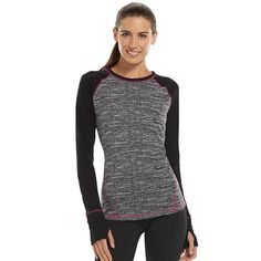 Women's Tek Gear DRY TEK Layering Scoopneck Workout Tee