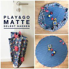 Play & go Matte - selbst genäht bei www.crea-box.de
