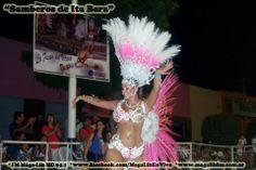 Samberos de Ita Bera 2014- AFRICA Anabel Valle, Reina de Comparsa