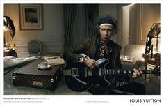 Louis Vuitton Core Value Campaign - Keith Richard