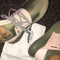 Adidas Tubular Pink And Green