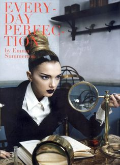 "Emma Summerton ""Everyday Perfection"" Vogue Italia March 2007"