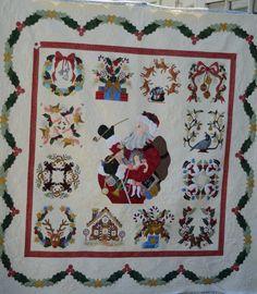 Baltimore Album Christmas Quilt