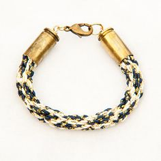 Bullet Baided Bracelet now featured on Fab.