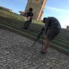 Appena fatte le riprese per il prossimo videoclip  Carichi per l'uscita dell'EP !!! #MayDay #videoclip #staytuned #PhaseInversion #punk #music #rock