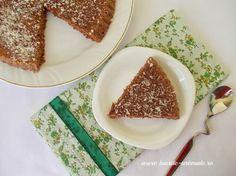 Negresa însiropată Dukan e o prăjitură bună, bună de tot. E dulce, aromată, perfectă lângă un ceai sau o cafea. Ba o puteţi face chiar şi când aveţi musafiri şi nu vreţi să gătiţi feluri separate, garantez că vor fi şi ei încântaţi 😉 Negresă însiropată Dukan  Tipăreşte Autor: Iuliana S. / bucate-aromate.ro Lista … … Continue reading → Points Plus Recipes, No Carb Recipes, Vegetarian Cooking, Vegetarian Recipes, Low Carb Desserts, Dessert Recipes, Wheat Belly Recipes, Blood Type Diet, South Beach Diet