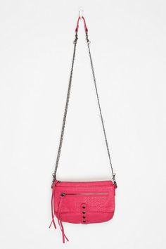 Deena & Ozzy Zip Pebbled Crossbody Bag $29.99 from Urban Outfitters I like the style, the color and the metal details. Overall very cute!