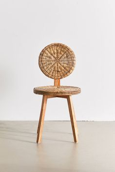 rattan Enid chair from Urban Outfitters // fort & field Home Interior Accessories, Unique Home Accessories, Decorative Accessories, Accessories Online, Pet Accessories, Interior Design, Rattan Dining Chairs, Rattan Furniture, Bedroom Furniture