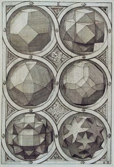 Jost Amman, Sechs Oktaeder, 1568