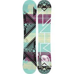 Nitro Spell Snowboard - Women's | Dogfunk.com..want! Want! Want!