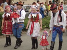 Hello all, Today I will take one more step in my goal of covering all the nations of Europe. The Czech Republic has two main divis. Folk Costume, Costumes, Art Populaire, Folk Clothing, Beautiful Patterns, Czech Republic, Culture, European Countries, Fabric